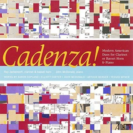 Cadenza: Modern American Duos for Clarinet or (Cadenza Cd)