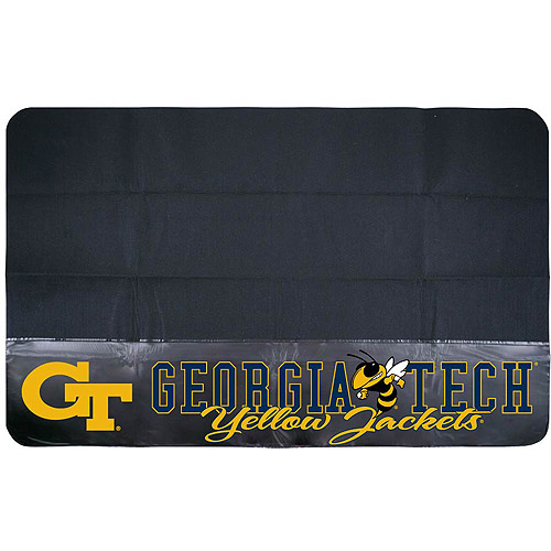 Mr. Bar-B-Q NCAA Protective Grill Mat, Georgia Tech University Yellow Jackets