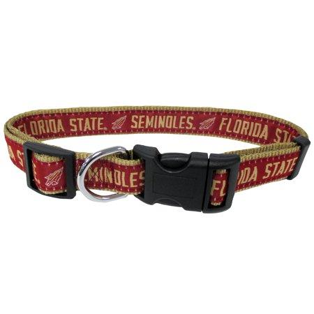 - Florida State University Nylon Adjustable Dog Collar