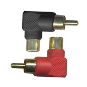 Stinger SGI22 Male/Female Right Angle RCA Adapters