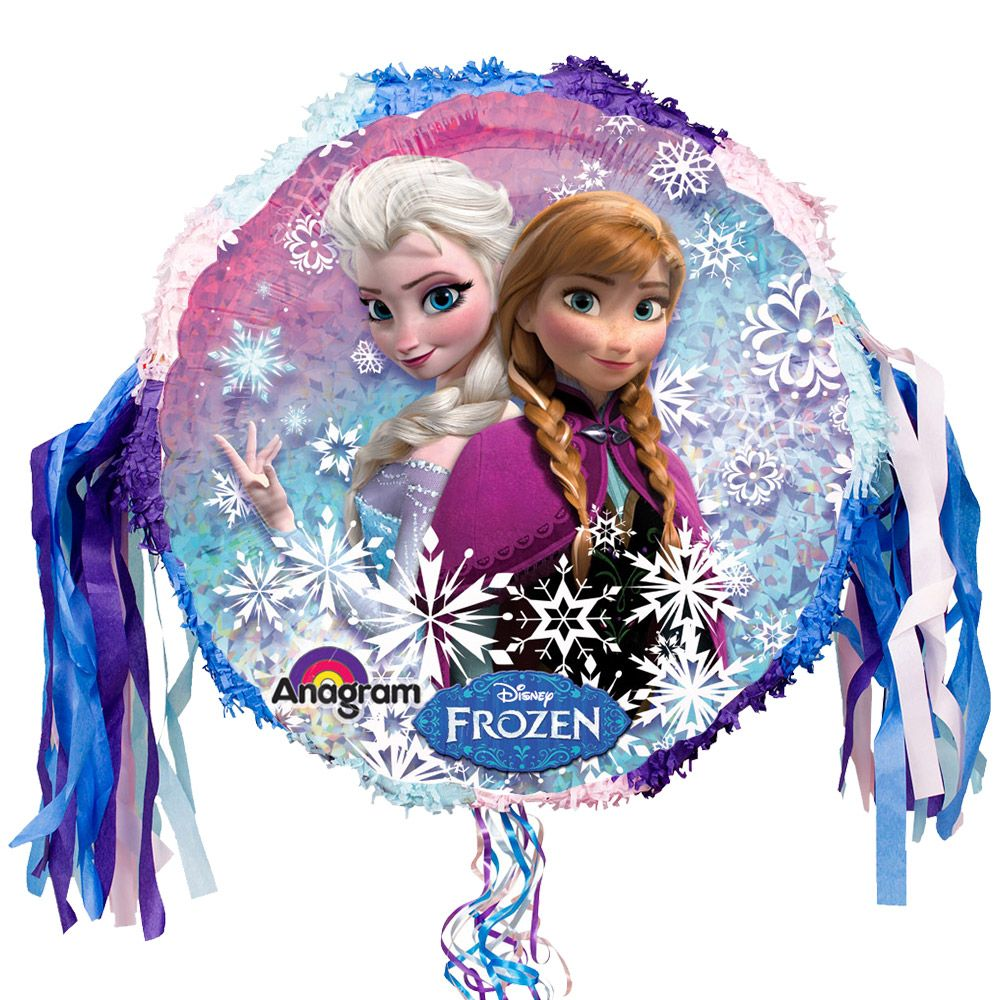 Frozen Pull String Pinata (Each) - Party Supplies