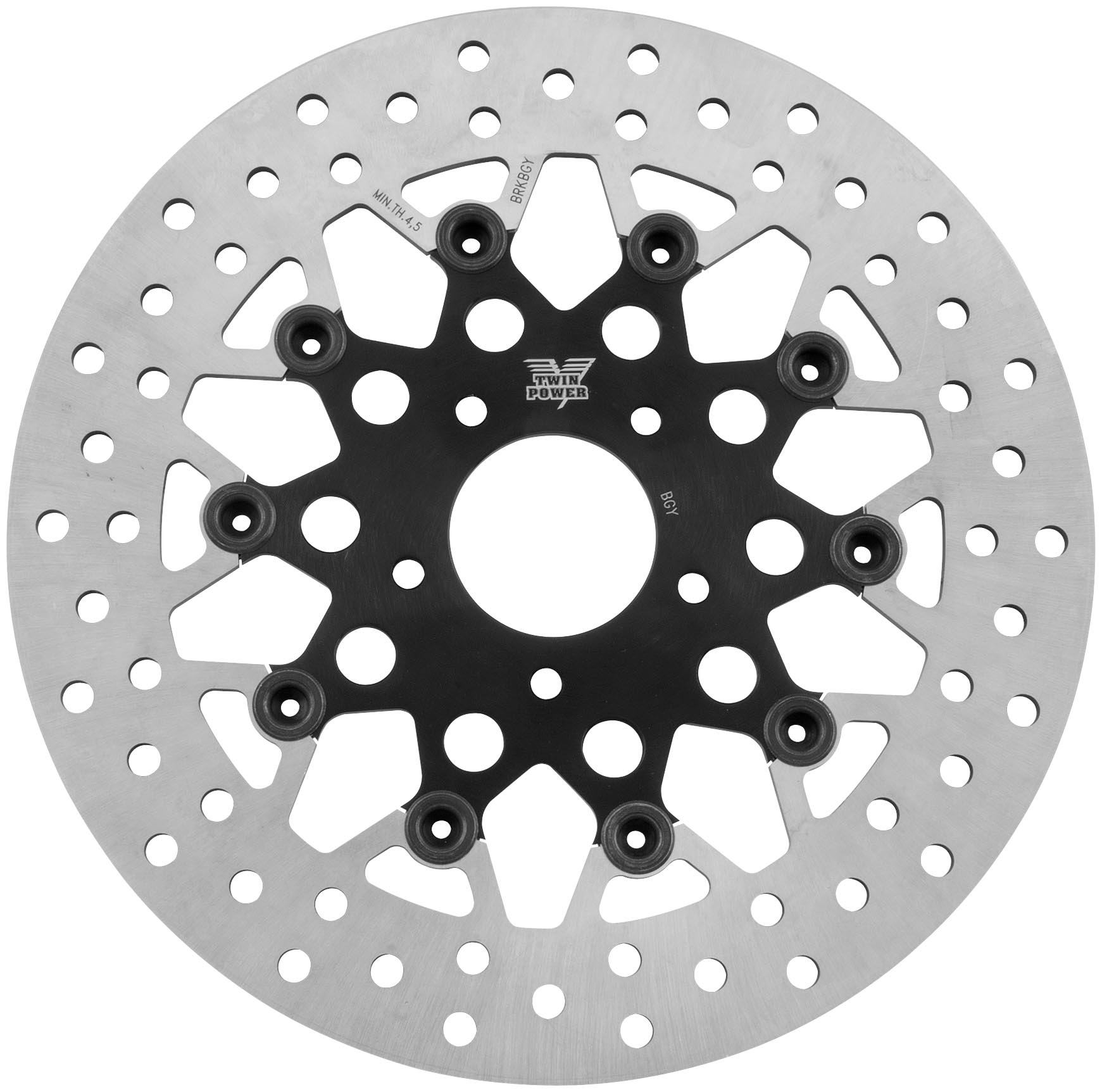 Twin Power 1441tb Floating Mesh Rotor