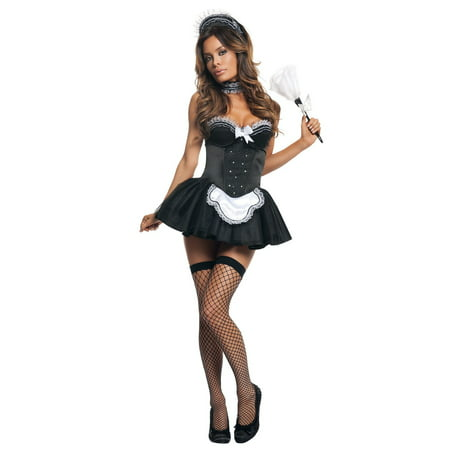 Seductive French Maid Costume