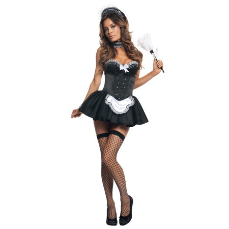 Seductive French Maid Costume - French Maid Roleplay
