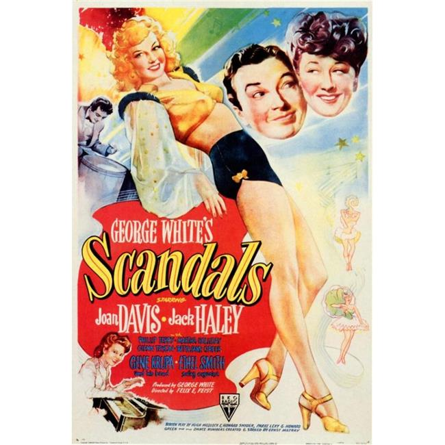 Posterazzi MOVIF6299 George Whites Scandals Movie Poster - 27 x 40 in. - image 1 de 1
