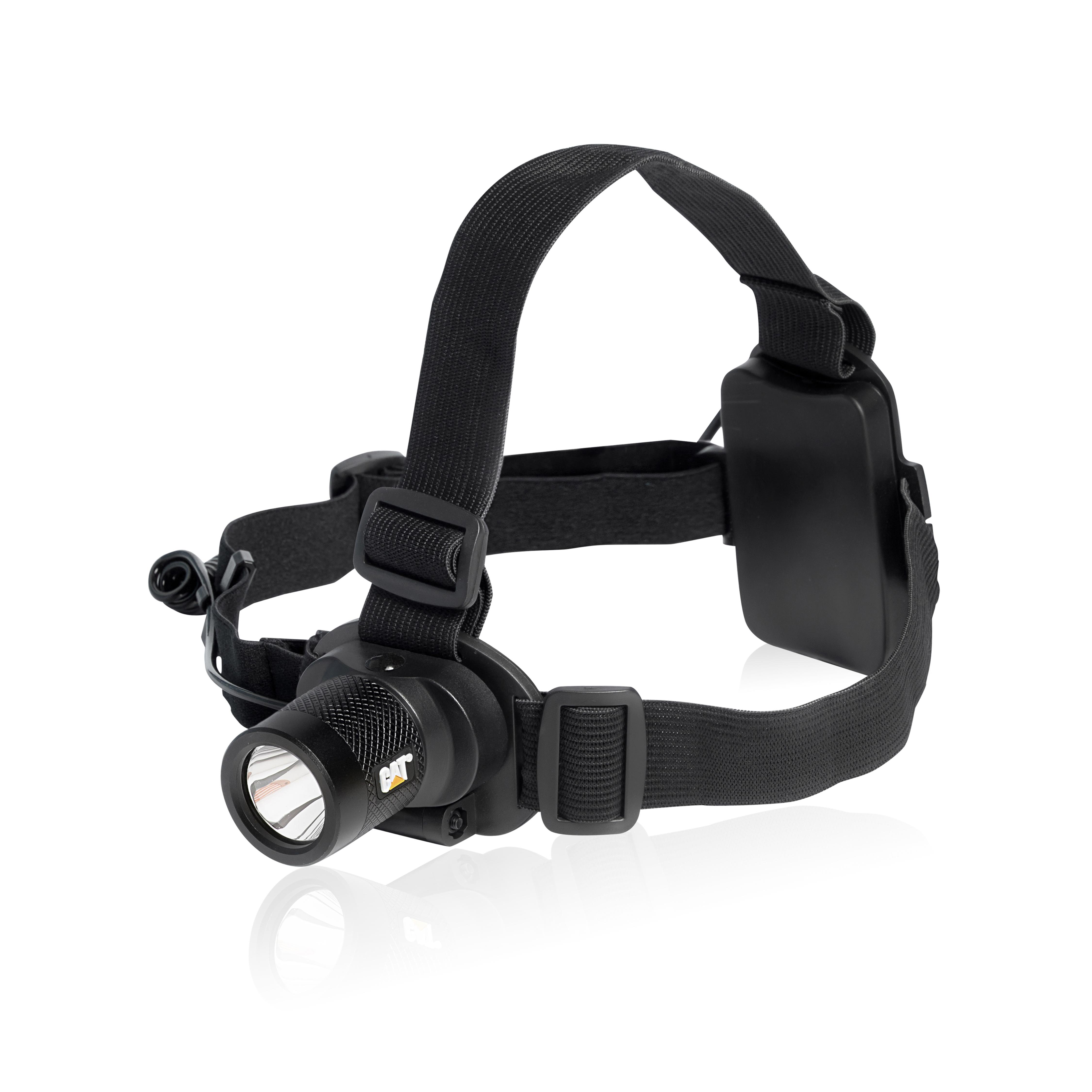 CAT CT40150P 120 Lumen, Battery Powered, 2 Mode LED Headlamp, Black