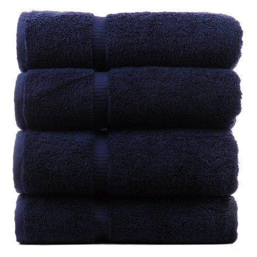 Bare Cotton Luxury Hotel and Spa Towel 100pct Turkish Cotton Bath Towel (Set of 4)