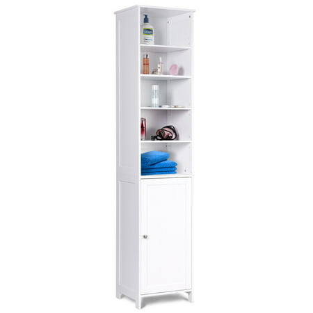 . 72  H Tall Floor Storage Cabinet Free Standing Shelving