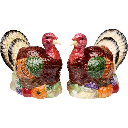 Cosmos Gifts Turkey Salt and Pepper Set