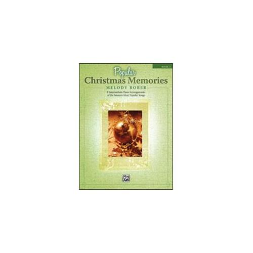 Popular Christmas Memories - Book 2 - Piano - Intermediate