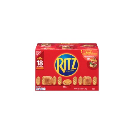 Branded Nabisco Ritz Crackers (3.43 oz., 18 ct.) Pack of 1 [Qty Discount / wholesale