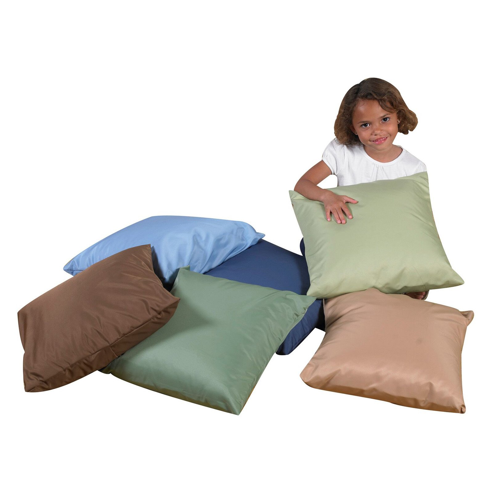 Childrens Factory Kids Pillows Set of 6 by Children's Factory