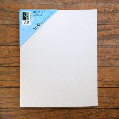 Art Alternatives 6 x 6 inch Pre-Stretched Studio Canvas (One Single