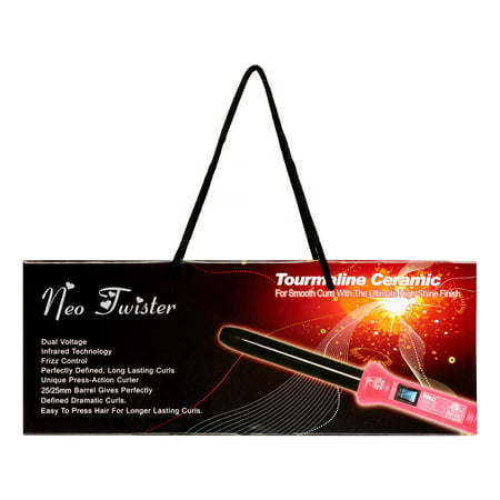 Neo Twister 25MM Curling Iron, Pink](Neo Anderson)
