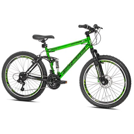 "Genesis 24"" Assault Men's Bike, Green"
