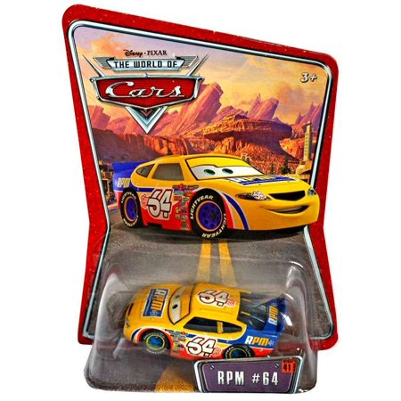 - Disney Cars Series 1 RPM No. 64 Diecast Car