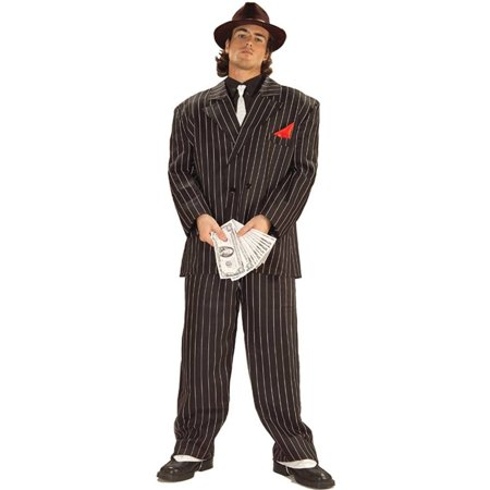 Adult Chicago Gangster Halloween Costume