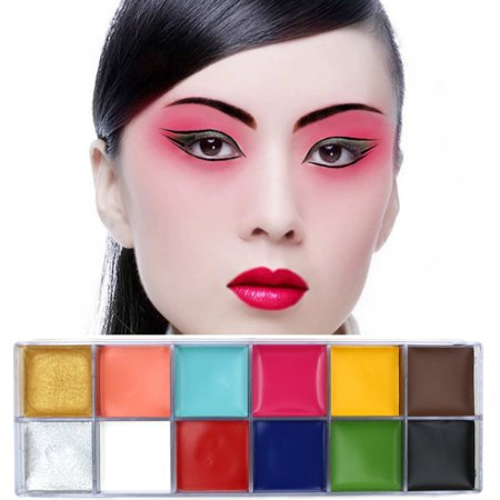 Sweetsmile 2 Colors Face Paint Oil Professional Body Painting Art Party Fancy Make Up