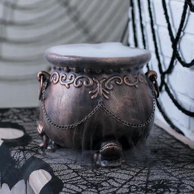 Glitzy Cauldron Halloween Decor