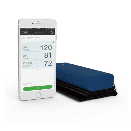QardioArm Wireless Blood Pressure Monitor - Midnight Blue ...