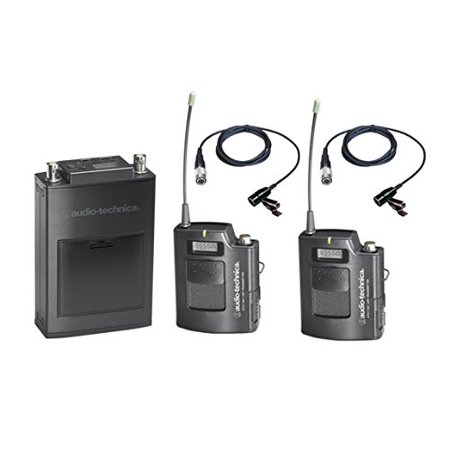 Audio-Technica ATW-1821D 1800 Series Camera Mount UHF Wireless Microphone