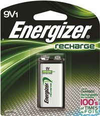 Eveready Battery NH22NBP Energizer Nimh Rechargeable Battery, 9 Volts (Pack Of 3) by EVEREADY BATTERY