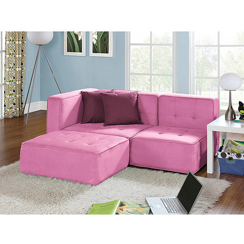 your zone loft collection comfy lounger, pink jubilee