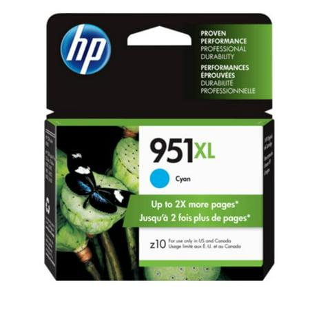HP 951XL High Yield Cyan Original Ink Cartridge (CN046AN)(Single Pack)