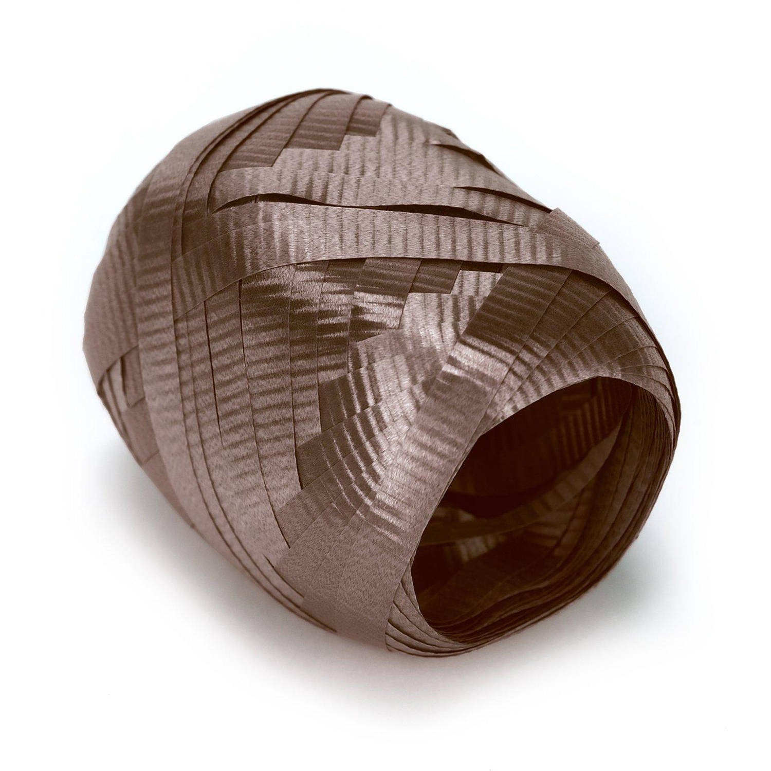 Chocolate (Brown) Curling Ribbon, 1 Roll