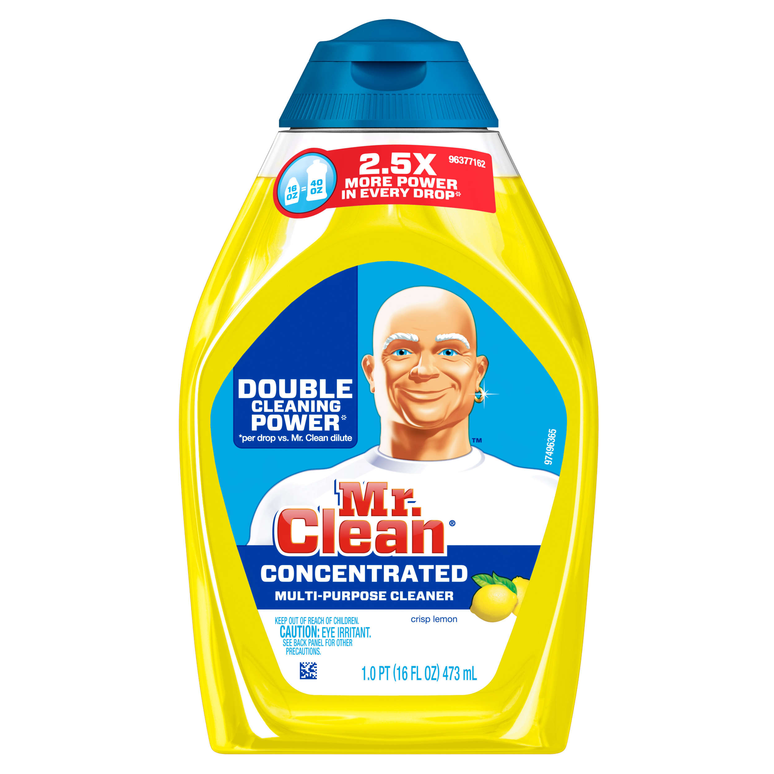 Mr. Clean Liquid Muscle All-Purpose Cleaner, Lemon Scent, 16oz.