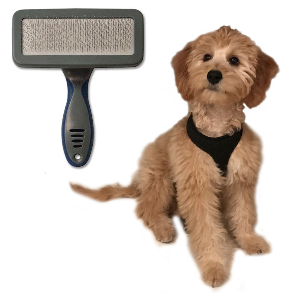 1 Pet Grooming Brush Comb Shedding Rake Trimming Dog Cat Hair Fur Removal Tool