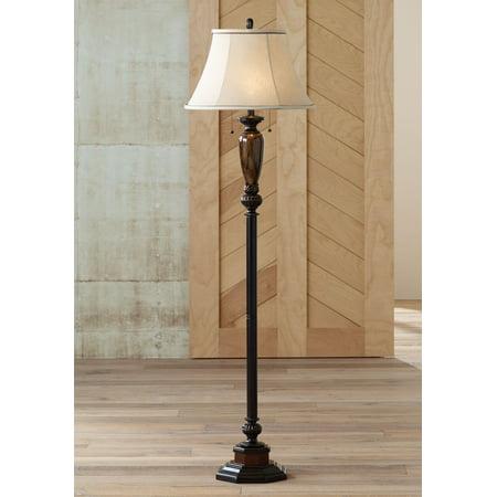 """Kathy Ireland Sonnett 63 1/2"""" High Twin Pull Floor Lamp"""