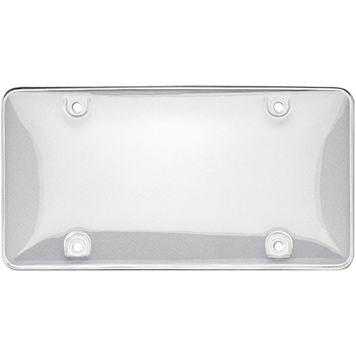 Tuf License Plate Bubble Shield, Clear