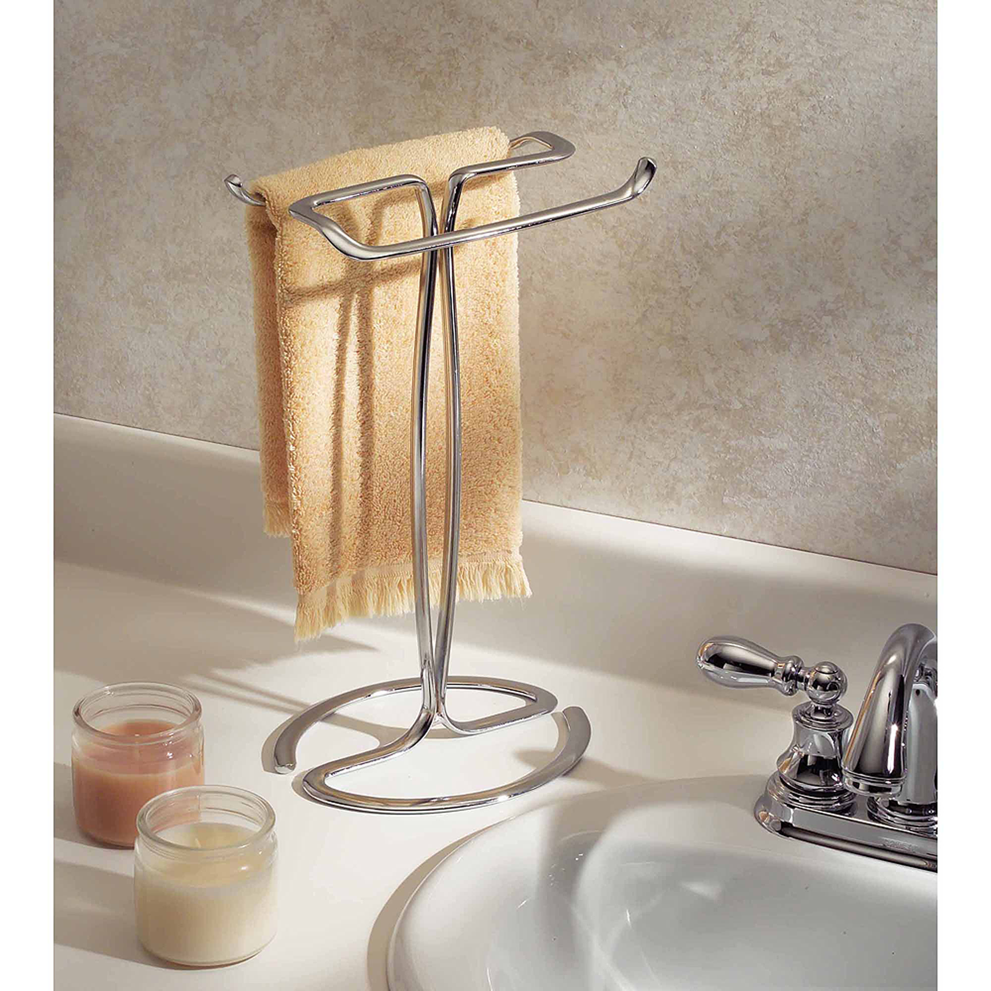 interdesign axis fingertip towel holder