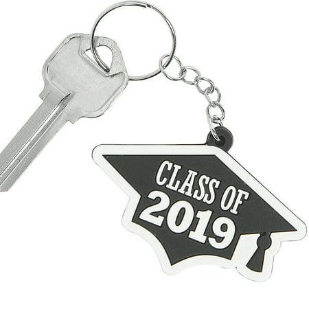 Class of 2019 Grad Cap Keychains - Fun Keychains
