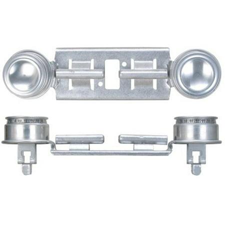 - GE WB29K17/WB16K10026 Gas Range Double Burner Assembly