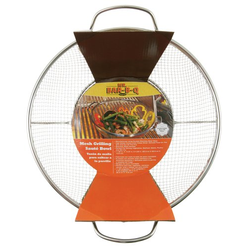 Mr. Bar-B-Q Stainless Steel Mesh Grilling Bowl
