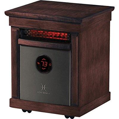 heat storm richmond portable infrared space heater