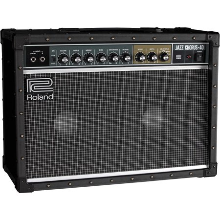 Jazz Tube Amp (Roland JC-40 40W 2x10 Jazz Chorus Guitar Combo Amp )
