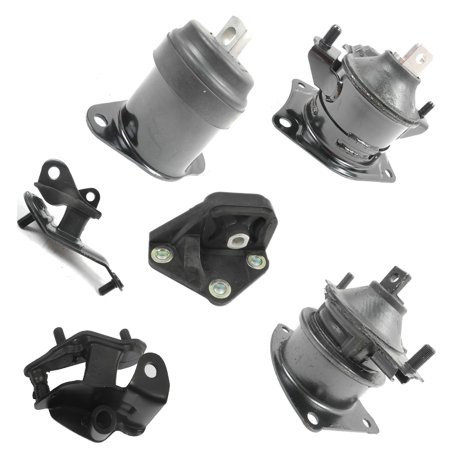 2003-2007 for Honda Accord 2.4L Auto Engine Motor & Trans Mount Set 6PCS M060