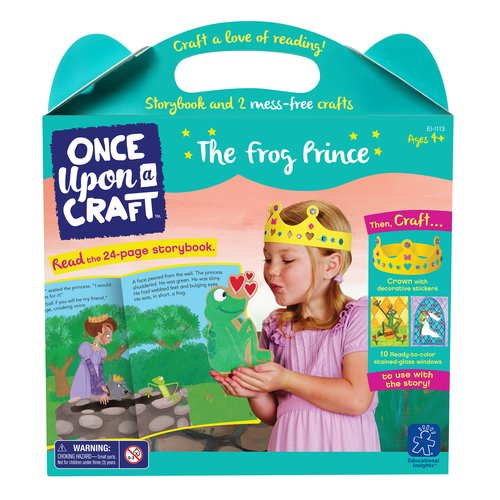 Educational Insights Once Upon a Craft, The Frog Prince