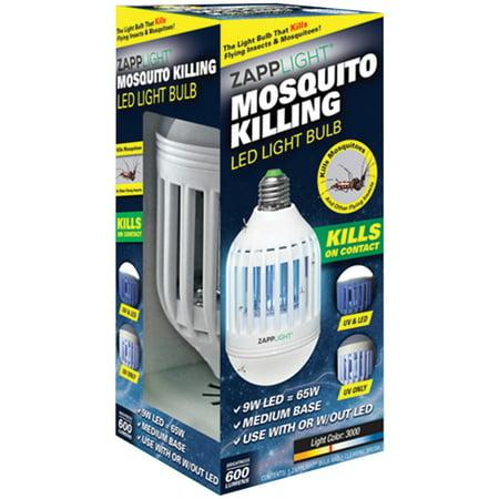 Zapplight Ikb Zapp 2 In 1 Insect Killer Amp Led Bulb
