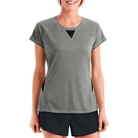a11c6f74c9 Hanes Sport Women''s Performance Mesh Inset Tee As low as $ 14.99 ...
