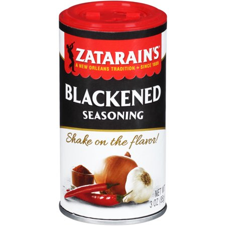 New Orleans Style Shrimp ((2 Pack) Zatarain's New Orleans Style Blackened Seasoning, 3 oz )