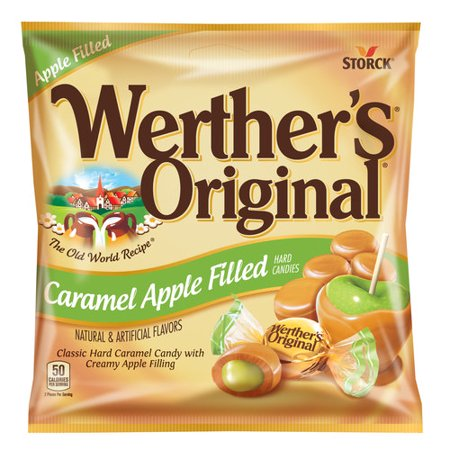 Storck Werther's Original Caramel Apple Filled Hard Candies, 5.5 Oz.](Hard Candy Company)