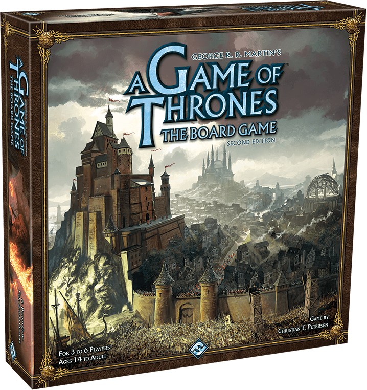 A Game of Thrones: The Board Game Second Edition by Asmodee North America