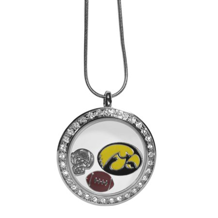 Iowa Hawkeyes Necklace - Locket (Iowa Hawkeyes Jewelry)