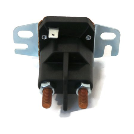RELAY SOLENOID w/ 2 Hole Bracket fit Briggs Stratton 161430 161432 161436 161437 by The ROP Shop