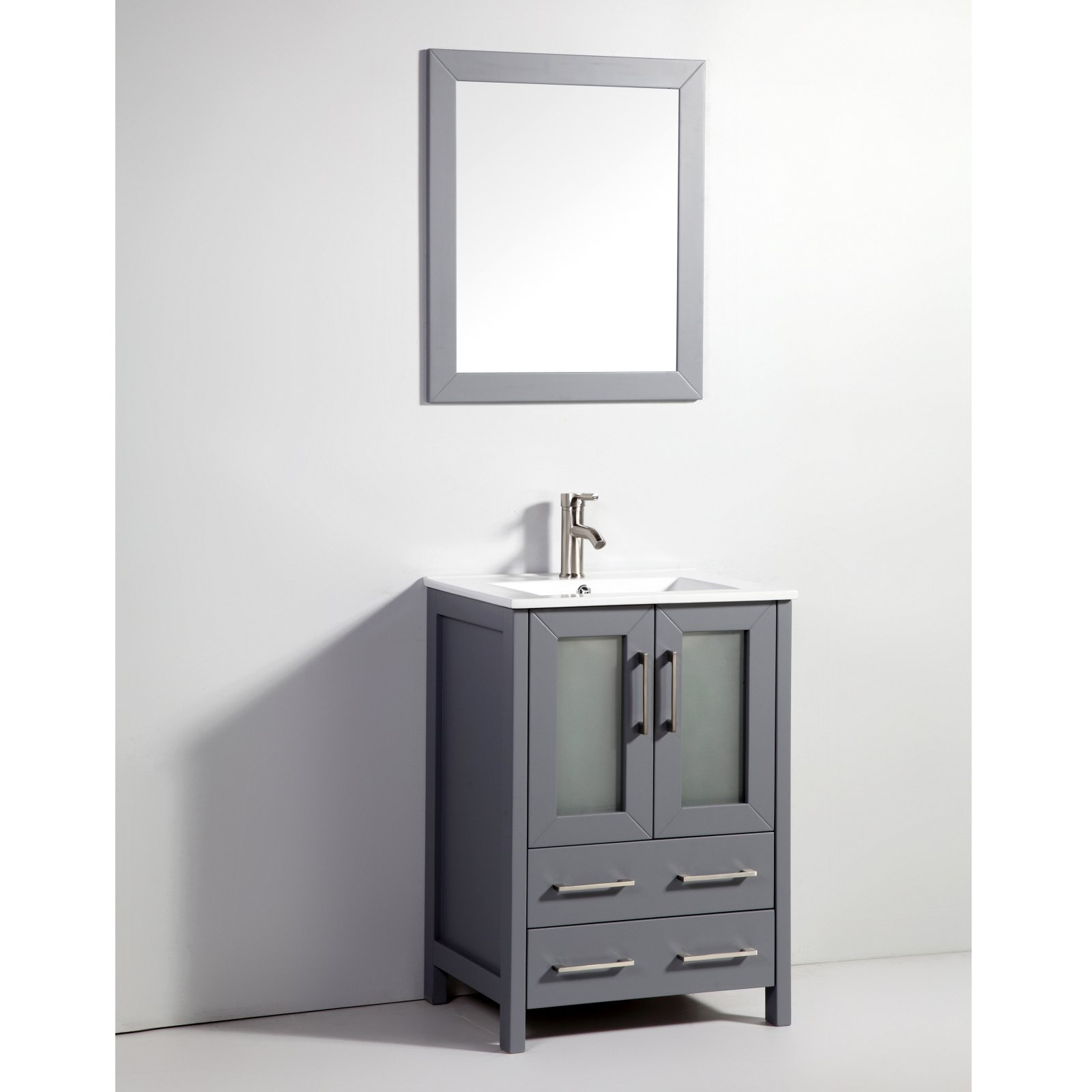 Legion furniture wa79 solid wood single sink vanity with - Walmart bathroom vanities with sink ...