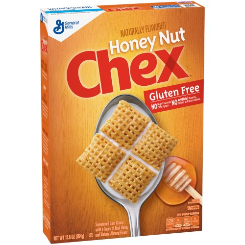 Honey Nut Chex Gluten Free Cereal (Pack of 14)
